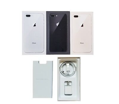 Apple iPhone 8 8+ Retail Box with Accessories Only Original iPhone 8 8 Plus