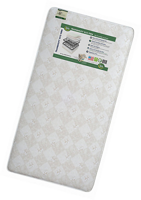 SEALED Serta Tranquility Eco Firm Crib and Toddler Mattress FREE SHIPPING
