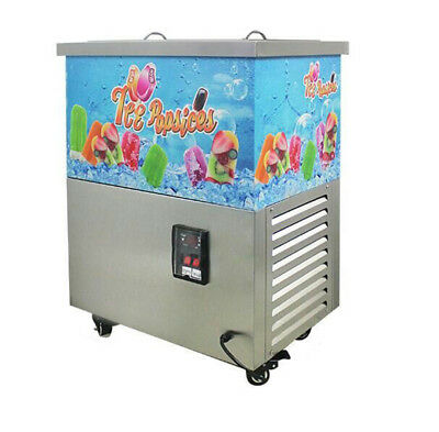 40PCS Commercial Ice Cream Stick Ice Lolly Machine Popsicle Maker 220 or 110V