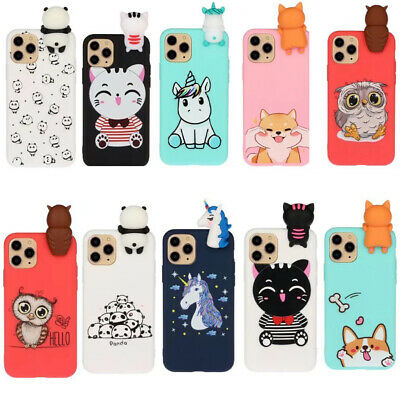For Huawei Mate 10 P10 P20 Lite/Enjoy 7S/Honor 9 Lite 3D Silicone Case TPU Cover