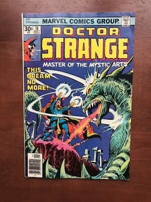 Doctor Strange #18 (1976) 7.0 FN Marvel Comics Colon Art Infinity War Movie