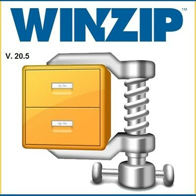 WinZip Pro 20.5 (32-bit and/or 64-bit) Full Regd. Delivery in 5 min