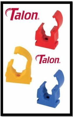15Mm 22Mm Talon Blue Gas Cold Red Hot Single Hinged Pipe Clip Identification