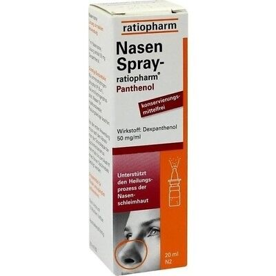 NASENSPRAY ratiopharm Panthenol 20 ml 01970611