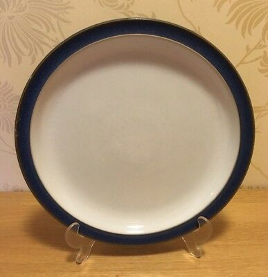 """Denby Imperial Blue - ONE (1) 10 1/4"""" 26 cm Dinner Plate #1 A/F"""