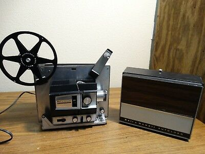 Bell & Howell Super 8mm Movie Projector Design 483A
