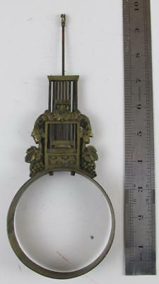 ANTIQUE FRENCH CLOCK PENDULUM decorative from a Portico Clock?