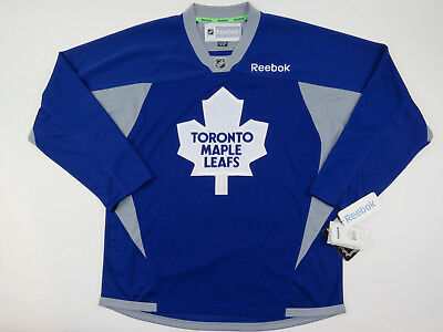 New Reebok Toronto Maple Leafs NHL Hockey Player Practice Jersey Mens  Medium M a9533e8c7