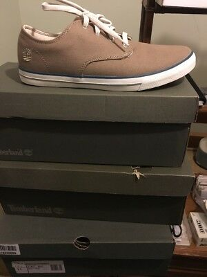 Timberland Shoes size 6.5 new in the box , beige colour 100% original
