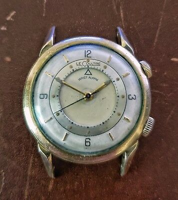 0c44cad30c552 Jaeger LeCoultre Memovox Wrist Alam Watch Rare First Production Year  1950 1951