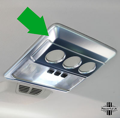 Interior vent reading light trim roof console Discovery 3/4 head lining overhead