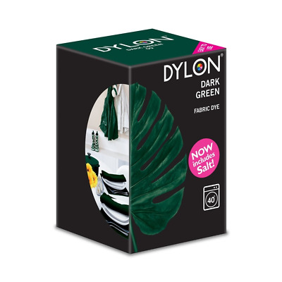 DYLON® Machine Dye 350g - Dark Green - Now Includes Salt