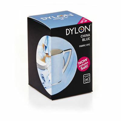 DYLON® Machine Dye 350g - China Blue - Now Includes Salt