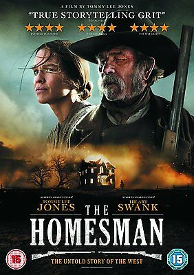 The Homesman - DVD - (2015) - Tommy Lee Jones Fast Post 5030305518615