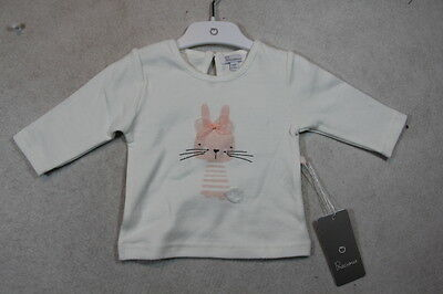 Baby Girl Size 000,0 Precious Plum Winter White Top With Graphics NWT
