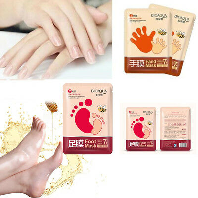 1Pack Hand/Foot Care Exfoliating Peel Mask Whitening Hydrating Dead Skin Remove