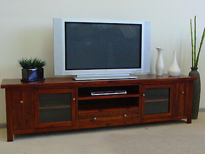 Birmingham Lowline Tv Unit Brand New Solid Hardwood Furniture FULLY ASSEMBLED
