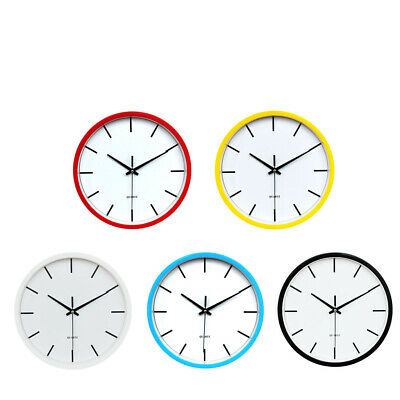 Large Round Wall Clock Numeral Modern Home Kitchen Wall Clock Easy Read 10''