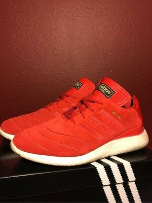 0515732aeb882 ADIDAS MEN S BUSENITZ Pure Boost Size 9 Scarlet Red F37885 Shoes ...