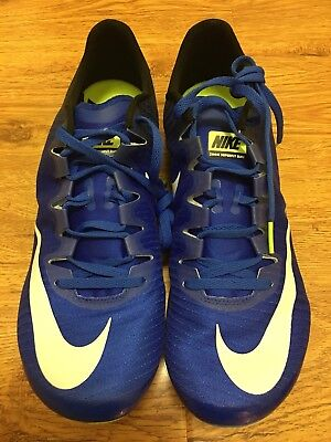 NEW Nike Zoom Superfly Elite Blue Track & Field spikes shoes Men's Size 12