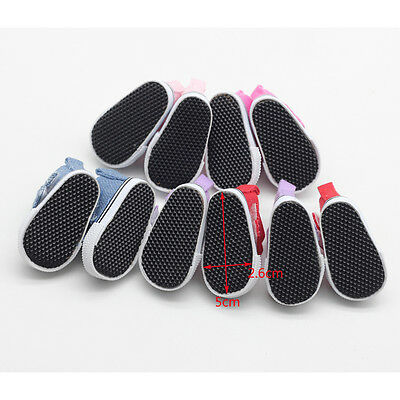 Hot 5cm Doll Accessories Sneakers Shoes for BJD dolls Mini Canvas Shoes Toy、Pop