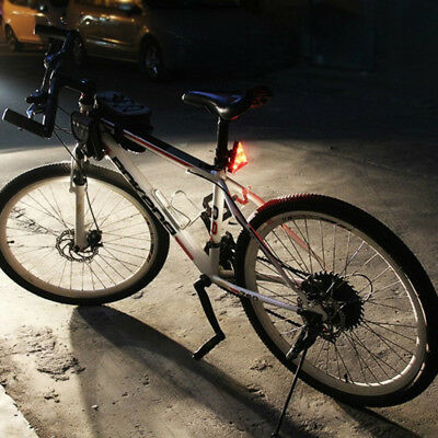 Cycling Bicycle Diamond Bike 6 LED Rear Light Taillight Lamp 2 Modes Flashing