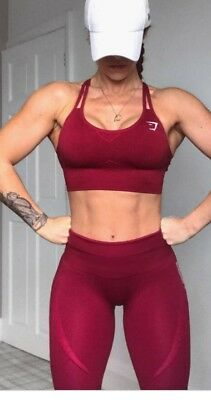 9c2e23d0e693e Gymshark Seamless Leggings Size M (body goals) Fit and lean Happy New You