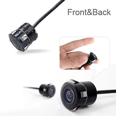 Car Rear View CCD 170 Front&Back View Forward Hole Camera Reverse Backup Parking