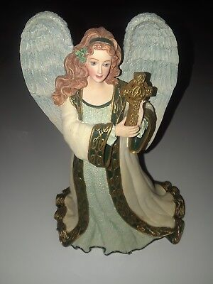 """Emerald Isle Angel Hamilton Collection """"may God Protect And Watch Over You""""."""