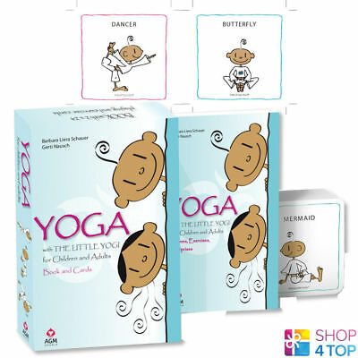 Yoga With The Little Yogi Cards Book Set Games And Exercises Children Adults Agm