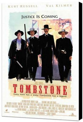 Tombstone Movie POSTER 11 x 17 Museum Wrapped Canvas, Kurt Russell, A, USA NEW
