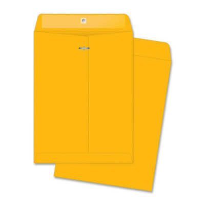 "MyOfficeInnovations Clasp Envelopes Heavy-Duty 9""x12"" 100/BX KFT 3254312"