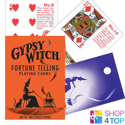 Gypsy Witch Tarot Deck Playings Cards Esoteric Telling Us Games Systems