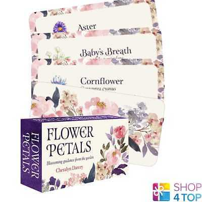 Flowers Petals Inspirational Deck Cards Esoteric Telling Us Games Systems New