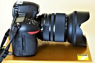 NIKON D850 DSLR IN MINT COND  A UK MODEL + SIGMA 24-105mm F4 ART LENS ALL  MINT