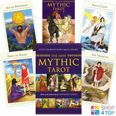 The New Mythic Tarot Cards Deck Book Set Esoteric Telling Astrology New