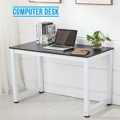 120cm PC Computer Desk Home Office Writing Table WorkStation Wooden & Metal