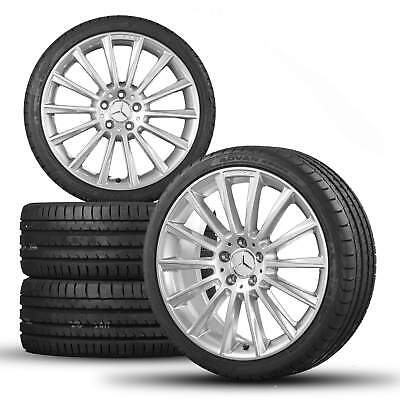 AMG Mercedes Benz C-class W205 S205 C205 19 inch alloy wheels rim tires for