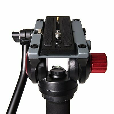 Caltar H01 Fluid Video Head Support Equipment Up To 11 lbs