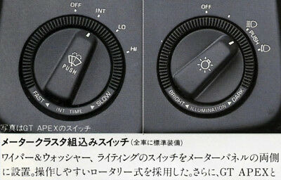 Toyota AE86 Instrument Decal Kit (Partial-Kit)