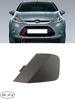 Ford Fiesta Mk7 2008-2013 New Front Bumper Tow Towing Eye Hook Cover Cap