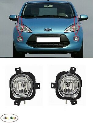 Ford Ka 2008 - 2015 Front Fog Light Lamps Pair Left + Right