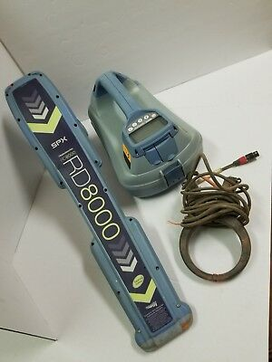 SPX Radiodetection RD8000 PXL w/TX-5 & CLAMP CABLE PIPE LOCATOR