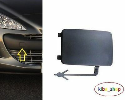 Peugeot 308 07-11 Front Bumper Tow Towing Eye Hook Cover Cap New 7414Tz