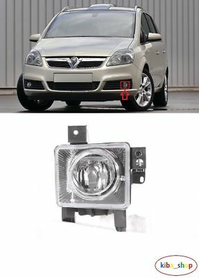 Vauxhall Opel Zafira B 2005 - 2008 New Front Fog Light Lamp Left N/s Passenger