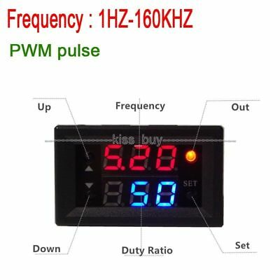 Digital led PWM pulse frequency duty cycle/Square Wave Square Signal Generator