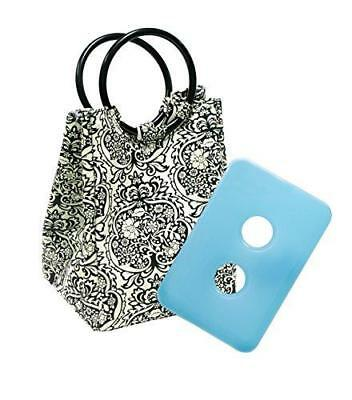 Fit Fresh Retro Insulated Lunch Bag For Women With Ice Pack Classic