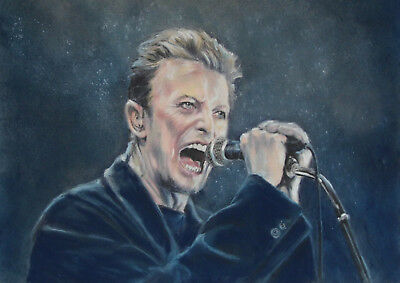 David Bowie - Limited Edition Artist print direct from art studio