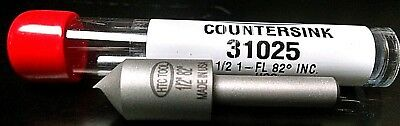 "HIGH SPEED COUNTERSINK 1/2 "" 82 degree Single Flute  Made in U.S.A. # 31025"
