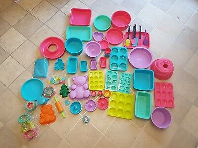 JOBLOT silicone moulds baking moulds chocolate moulds all new 21 items a